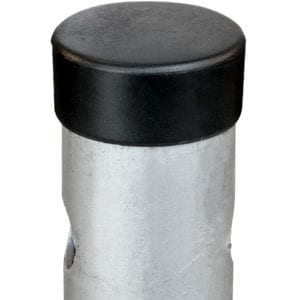 Protective cap for 60.3 screw piles