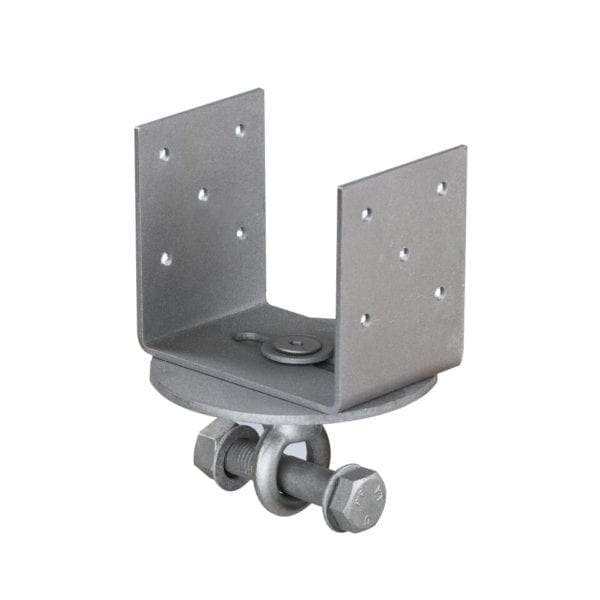 "4"" inch U- bracket for horizontal beam"