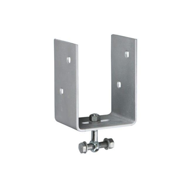 150mm U-bracket for vertical post