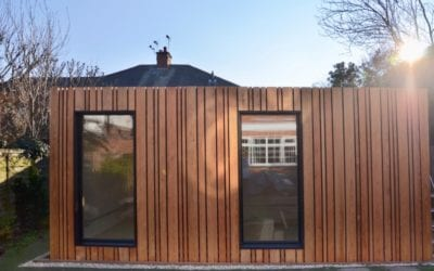 Case Study: Garden Office on DIY Screw Piles
